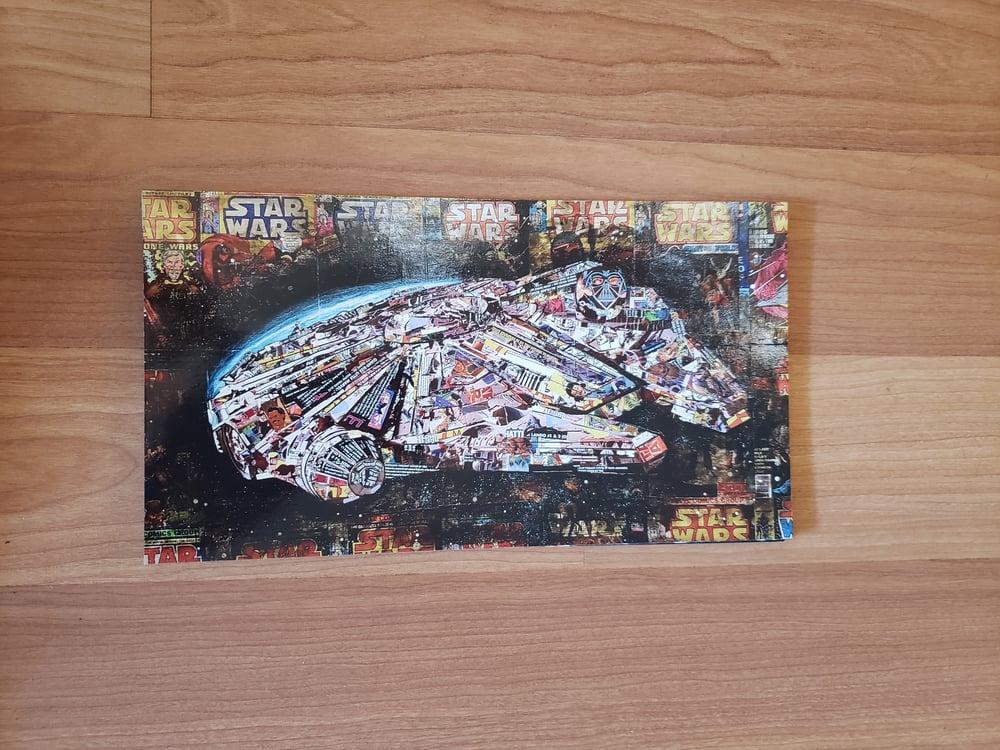 Image of Millenium Falcon Postcard