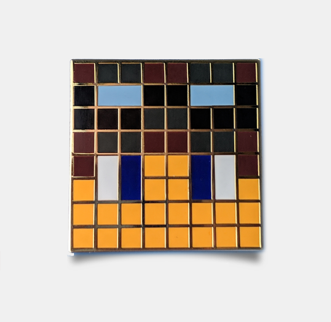 Image of Tycer Pin Badge