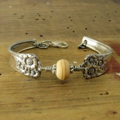 Image of April Silverware Bracelet