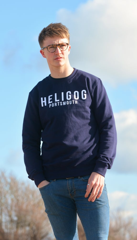 Image of Palmerston Sweatshirt (Navy Blue)