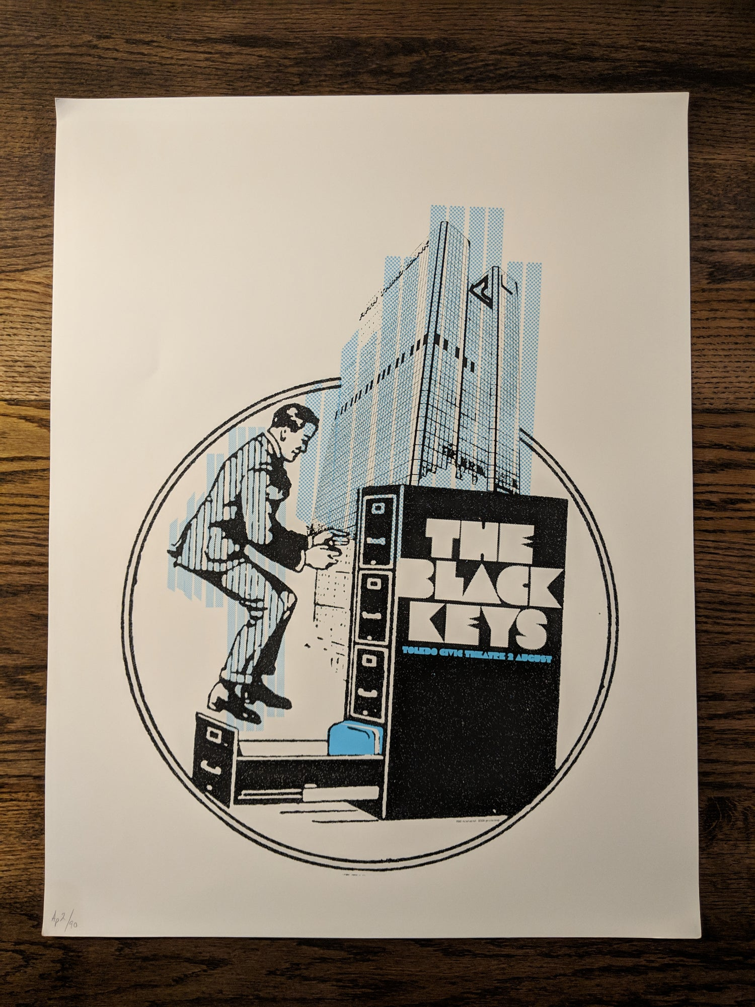 Image of The Black Keys - Toledo, Ohio **RARE FIND** Extra big