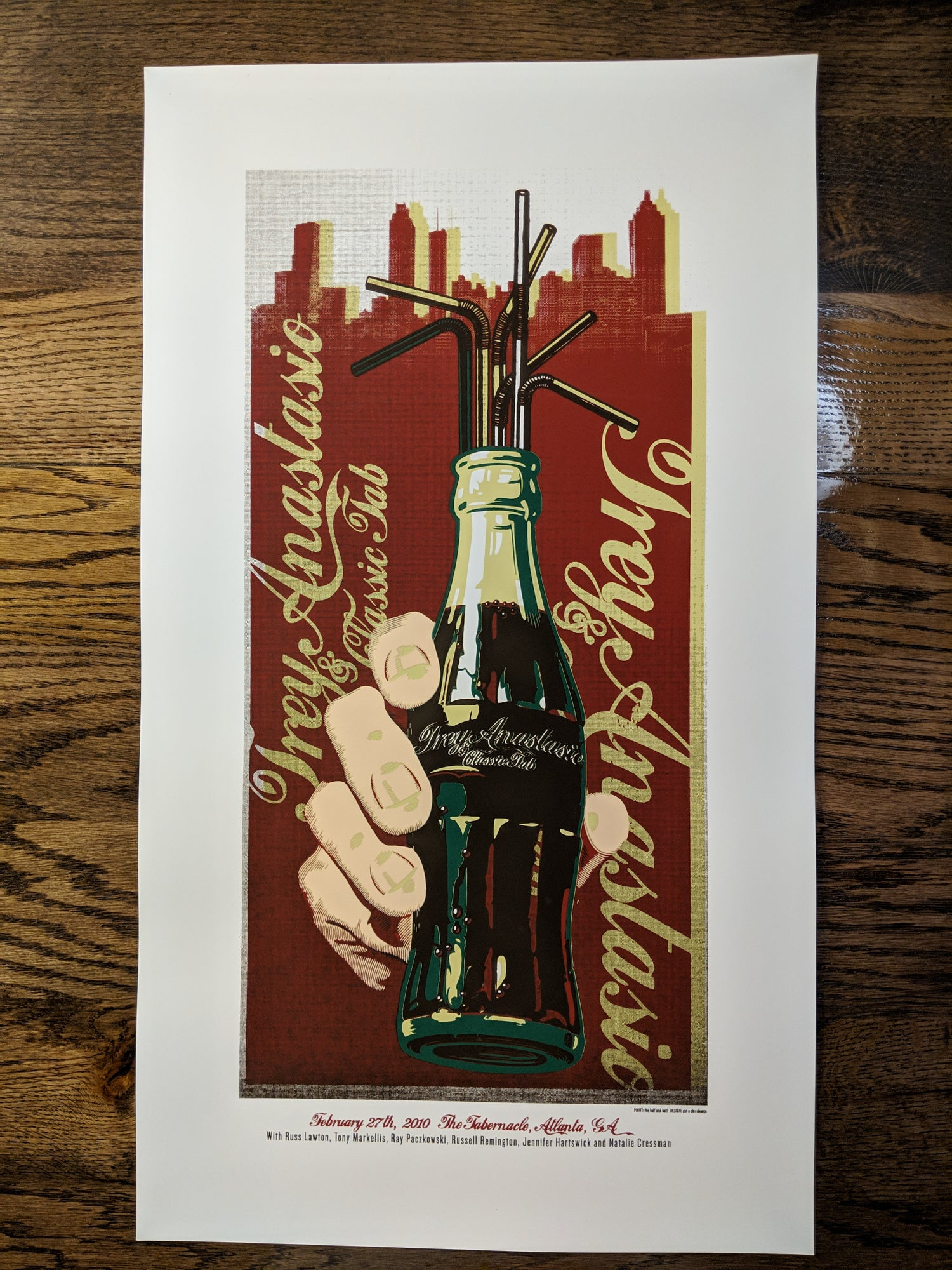 Image of Trey Anastasio - Coke Bottle **RECENTLY DISCOVERED**