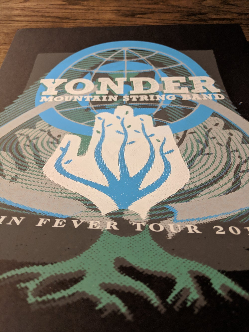 Yonder Mountain String Band - Cabin Fever Tour Poster **RECENTLY DISCOVERED**