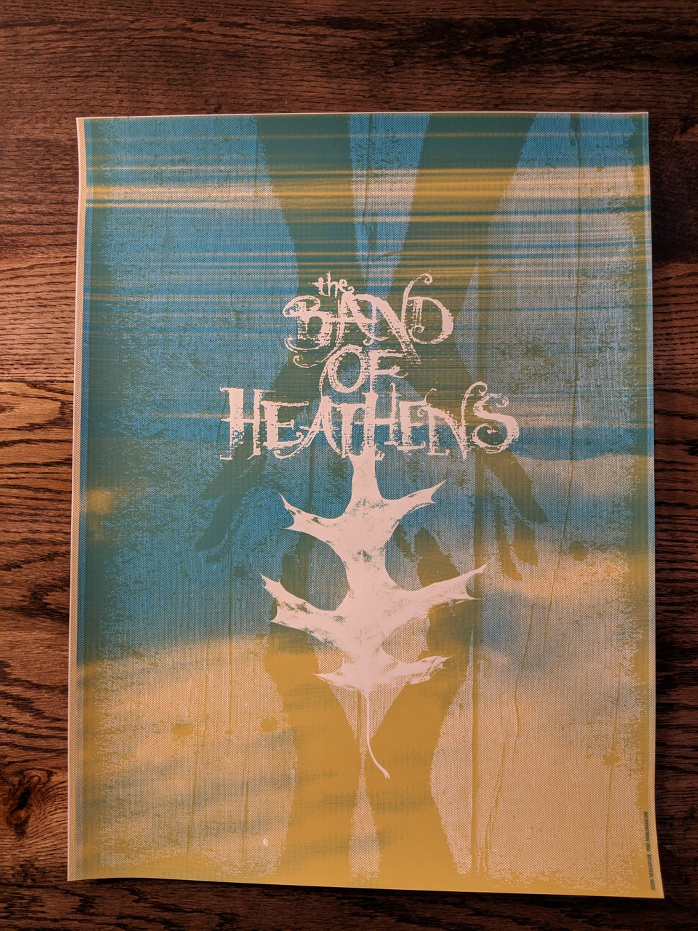 Band of Heathens Poster