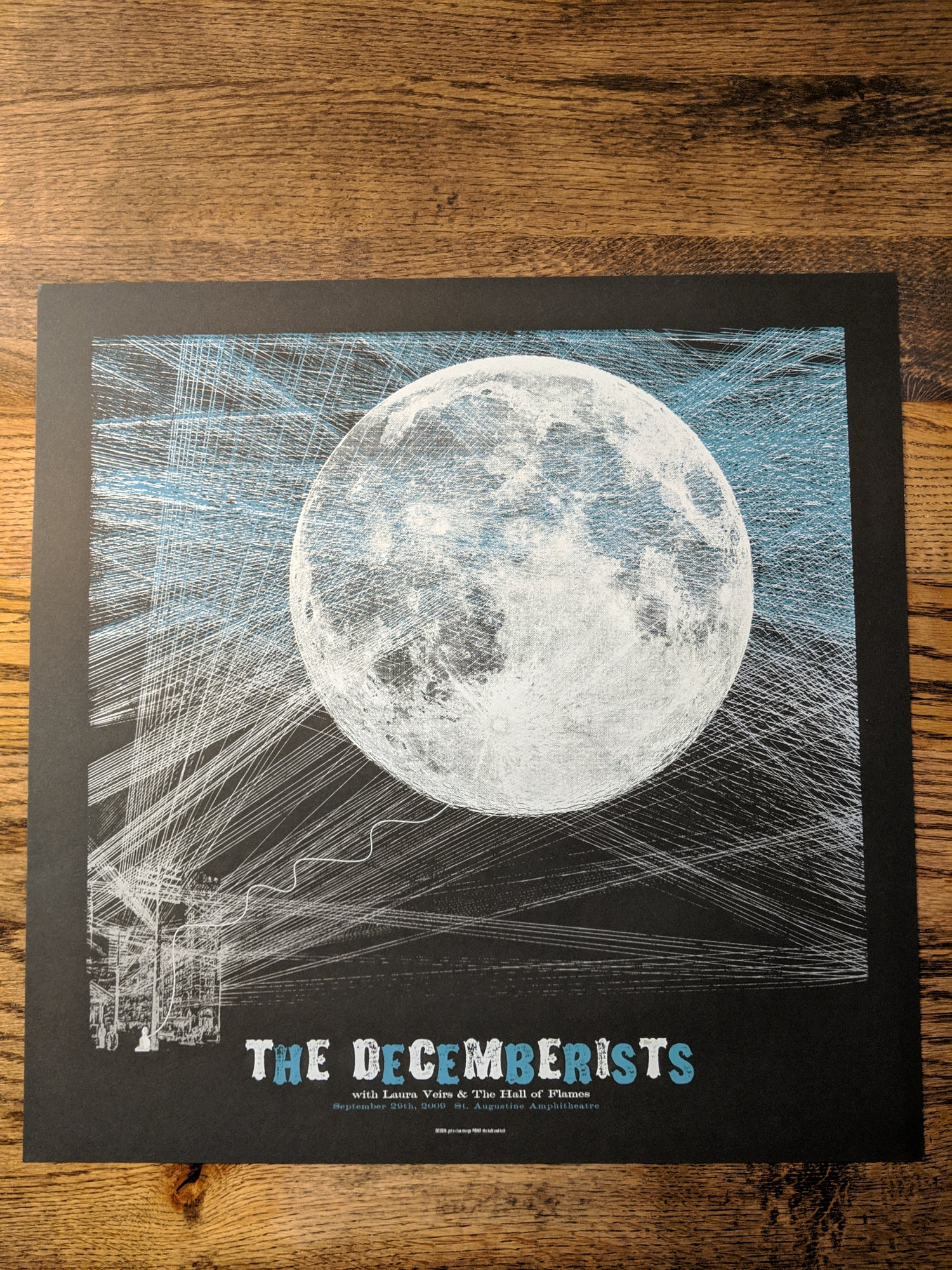 Image of The Decemberists Gig Poster **RARE FIND**