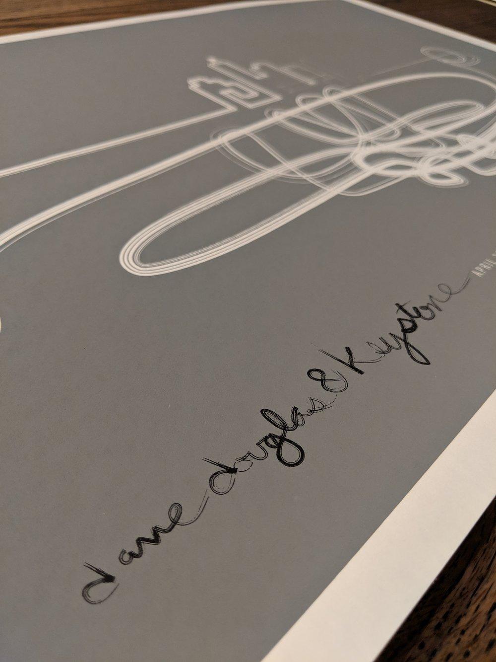 Dave Douglas Trumpet Poster, Rare 2008 JAZZ