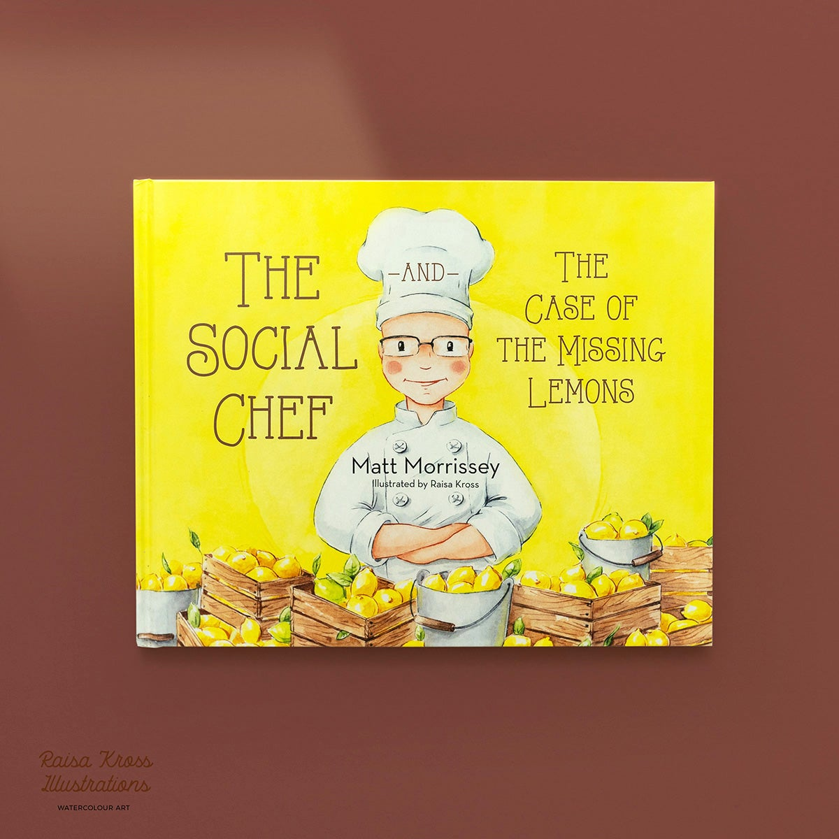 Image of The Social Chef and the Case of the Missing Lemons