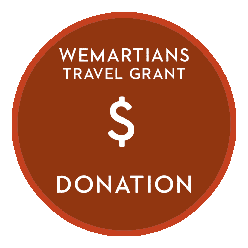 Image of WeMartians Travel Grant Donation