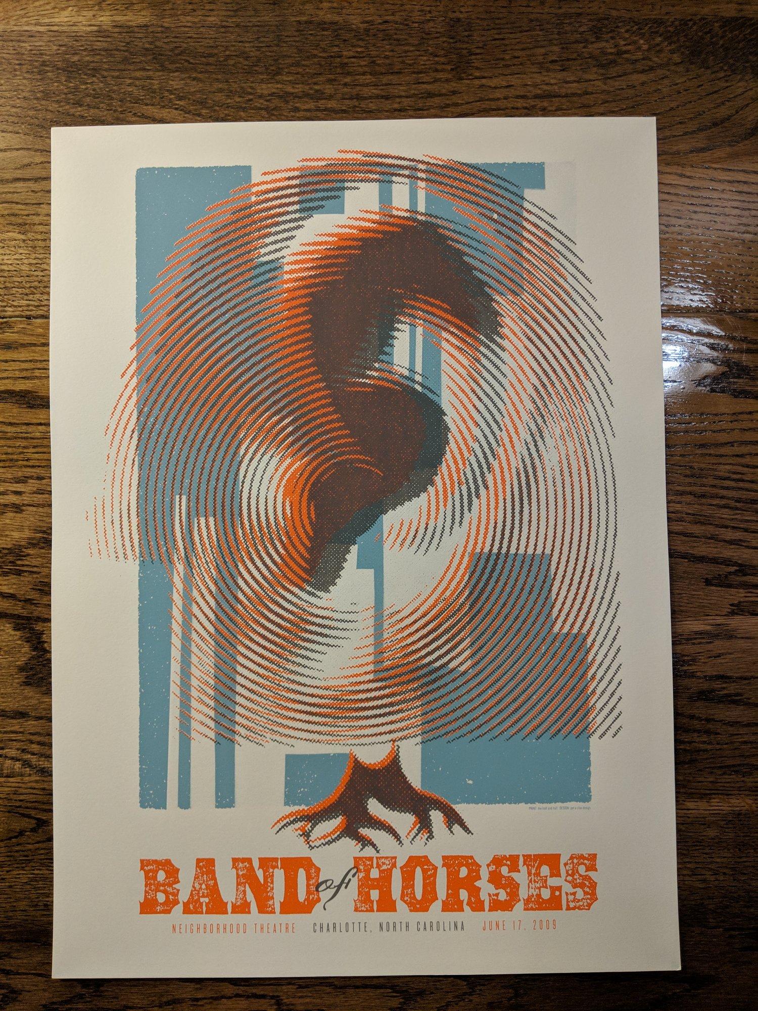 Image of Band of Horses, Charlotte, NC