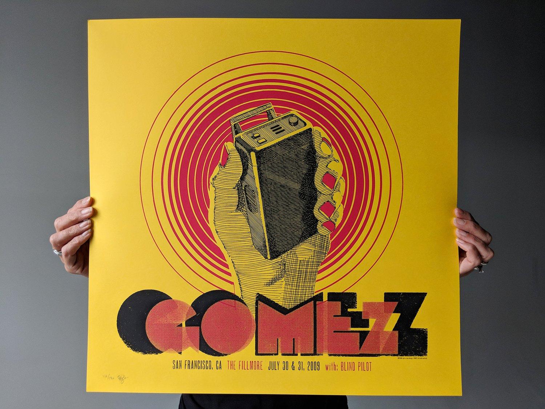 Image of GOMEZ, The Fillmore, San Francisco