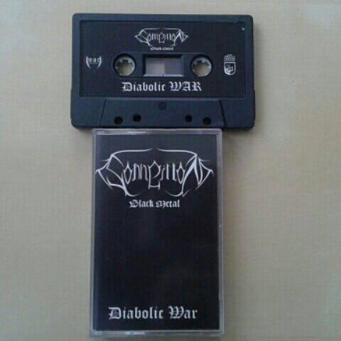 "Image of DEMO TAPE ""DIABOLIC WAR"""