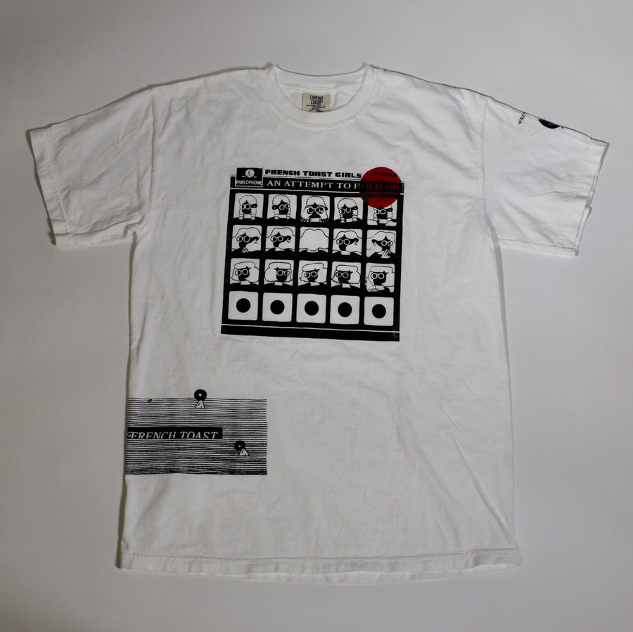 "Image of White ""Test Print"" Tee"