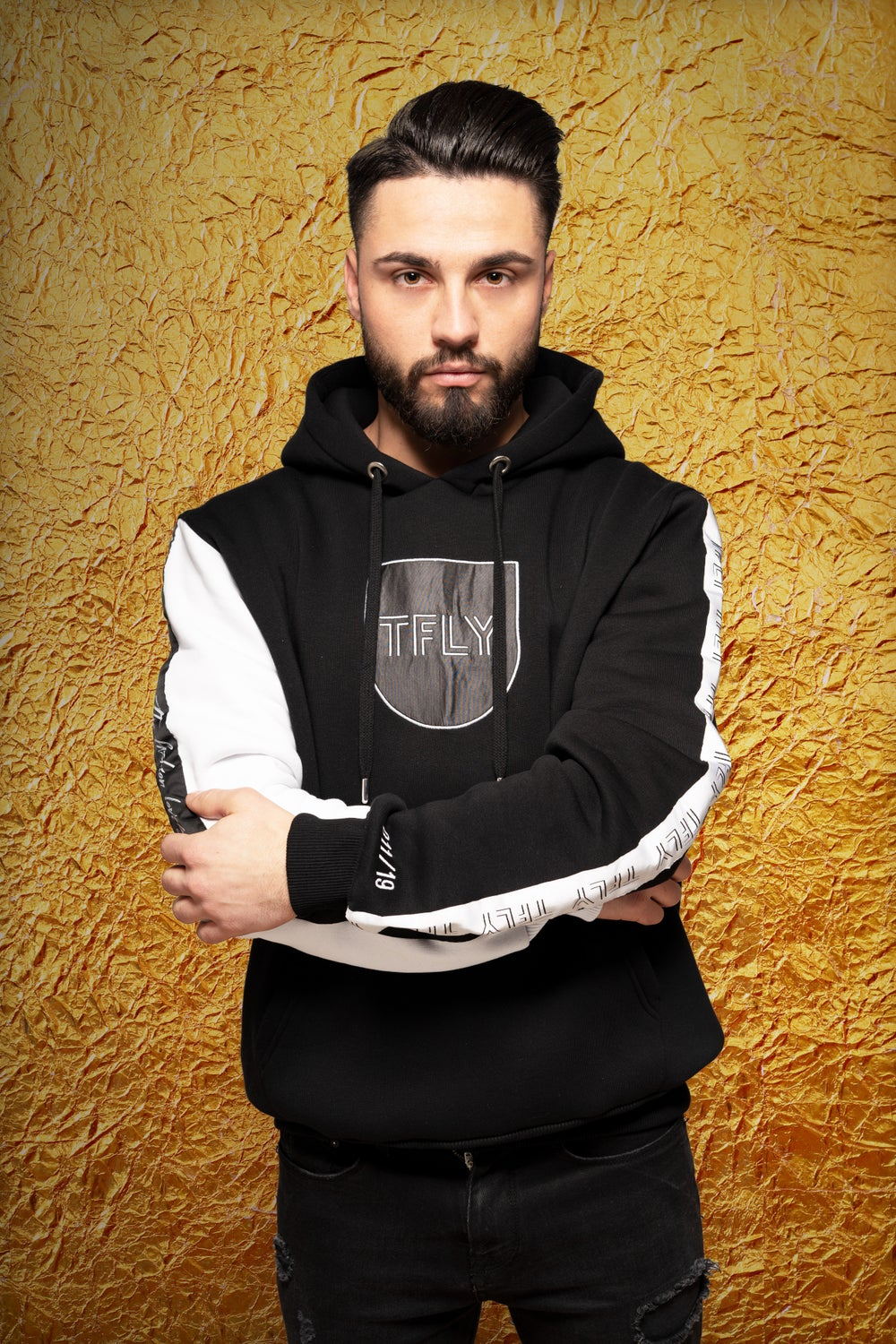 Image of 011/19 - YOU´RE UNTOUCHABLE HOODIE