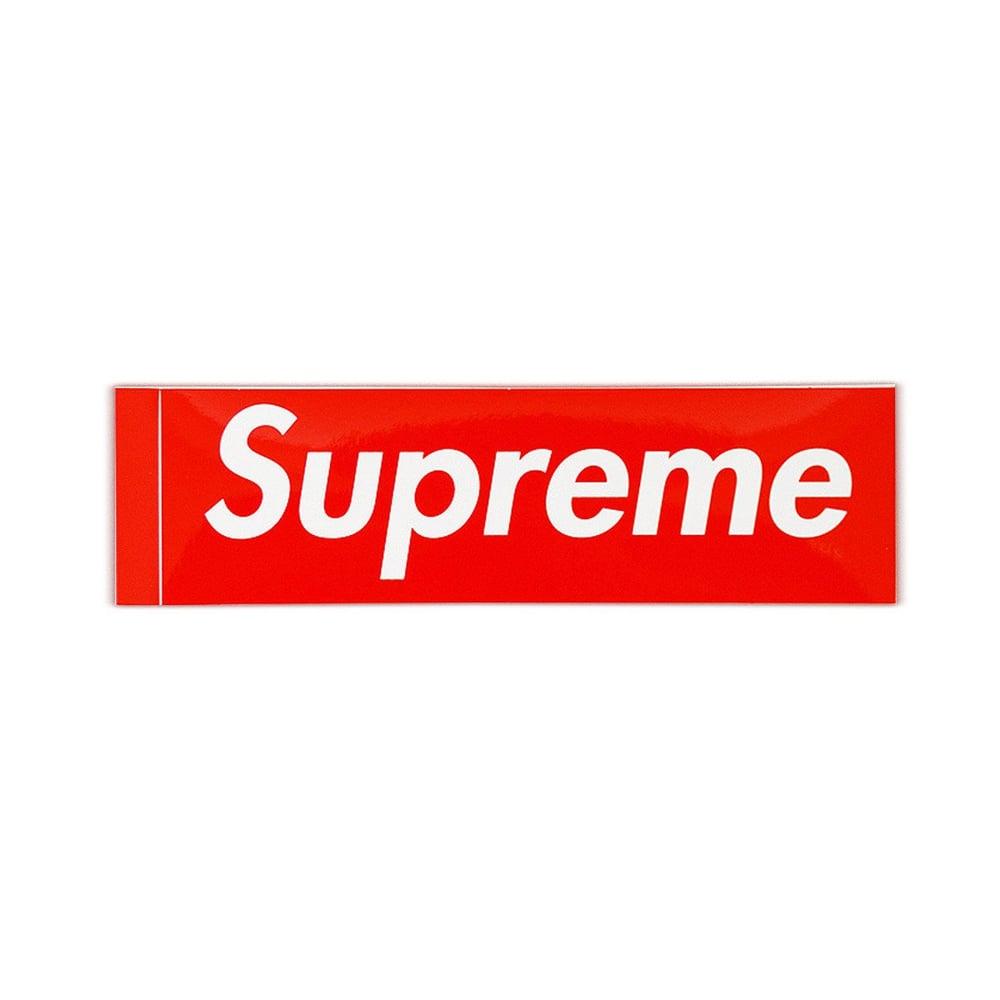 Image of Supreme Box Logo Sticker 5 pack