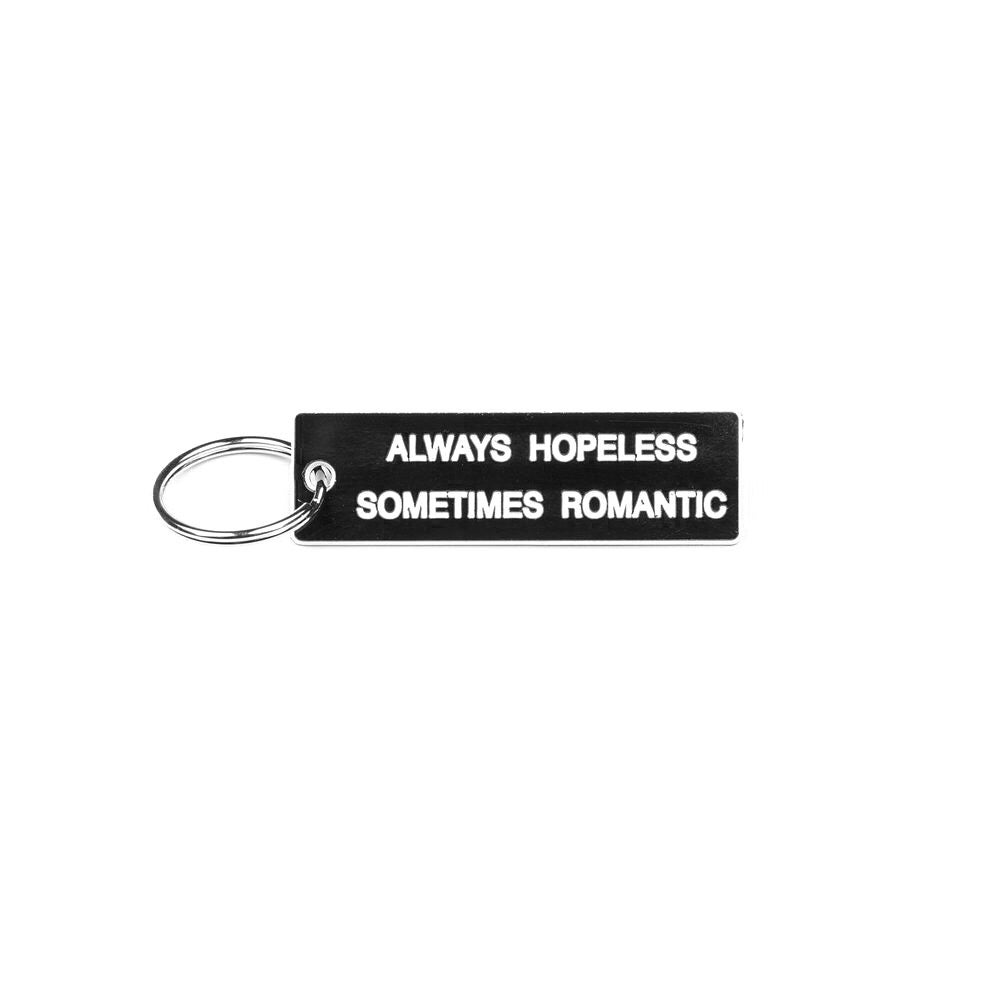 Image of HOPELESS / ROMANTIC KEYRING