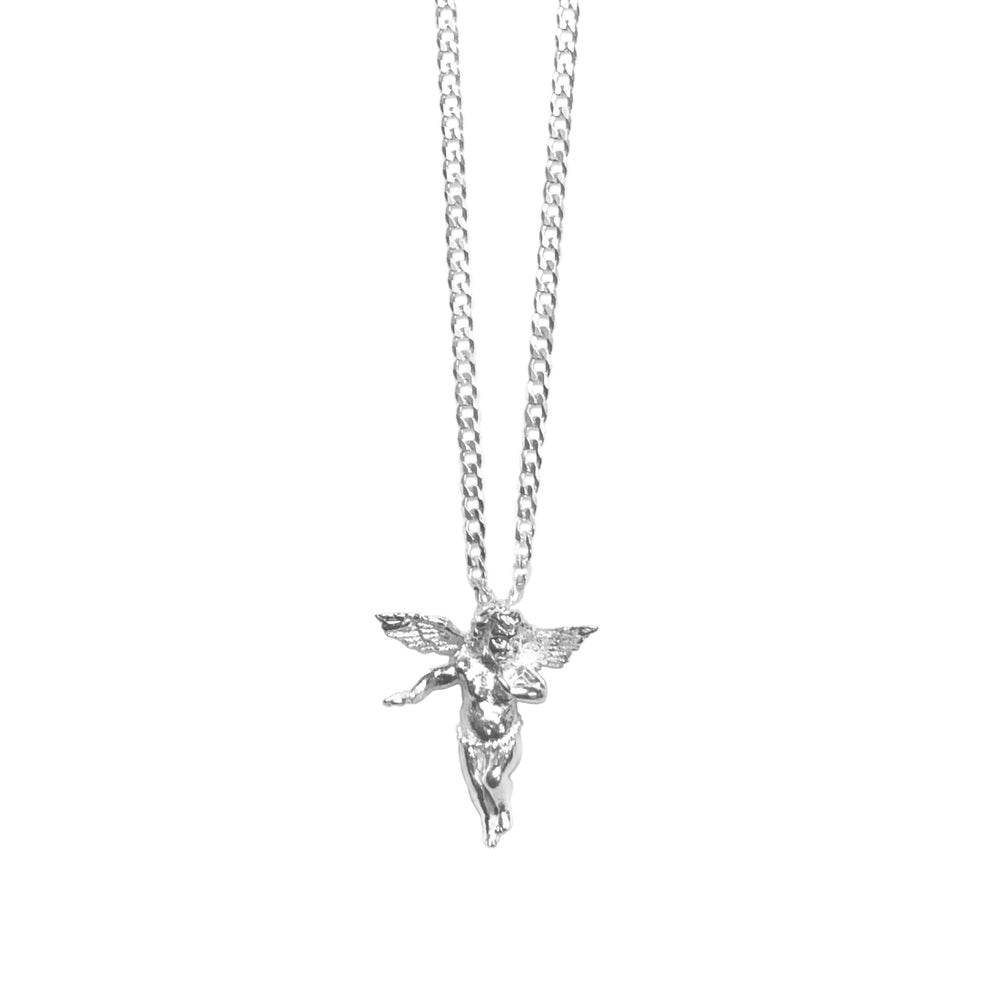 Image of Silver Angel Necklace