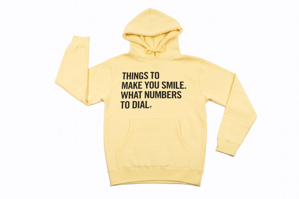 Image of MAD QUESTION ASKING - Hoodie (Mellow Yellow) - Limited Edition Blend