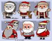 Image of Evolution of Santa Claus