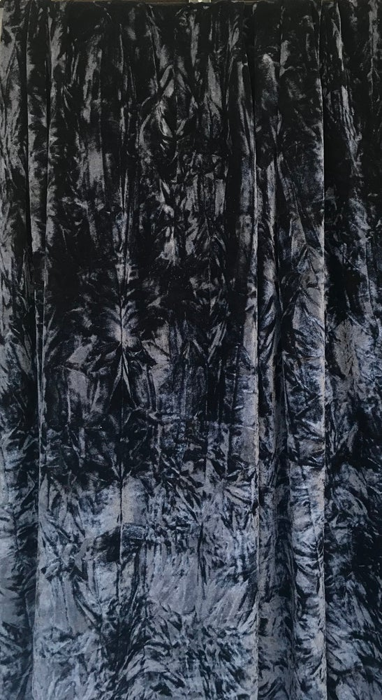 Image of Black Crushed Velvet