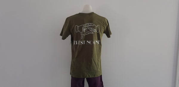 Image of Trust No-One Tee (Olive)