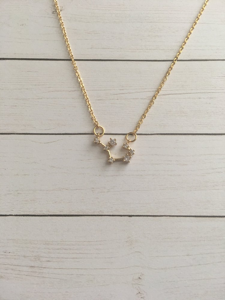Image of Constellation Zodiac Necklace