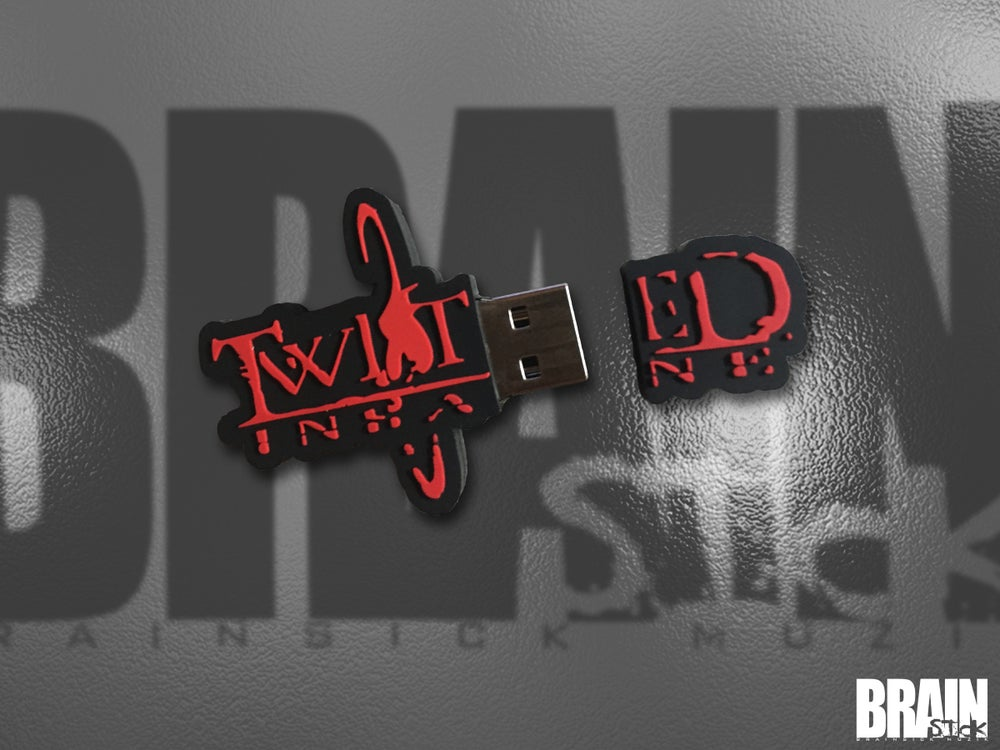 Image of Twisted Insane Flash Drive RED collection PRE ORDER