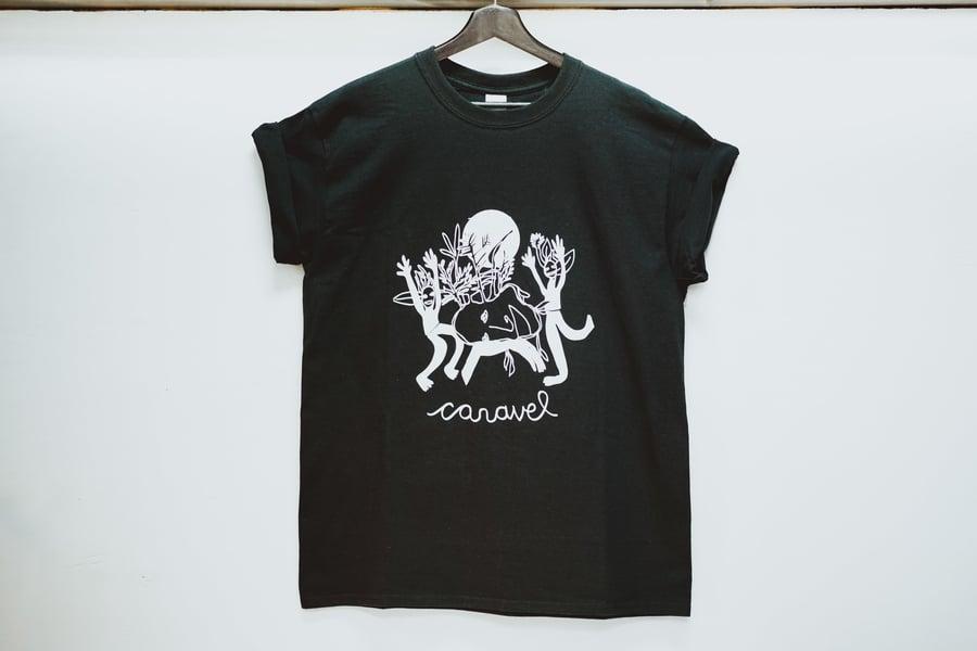 Image of T-shirt Caravel noir