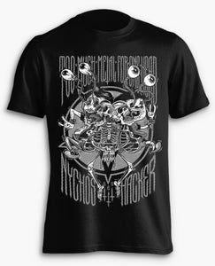 Image of Too Much Metal For One Head T-Shirt