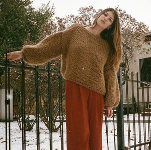 Image of  WOOL CROPPED SWEATER