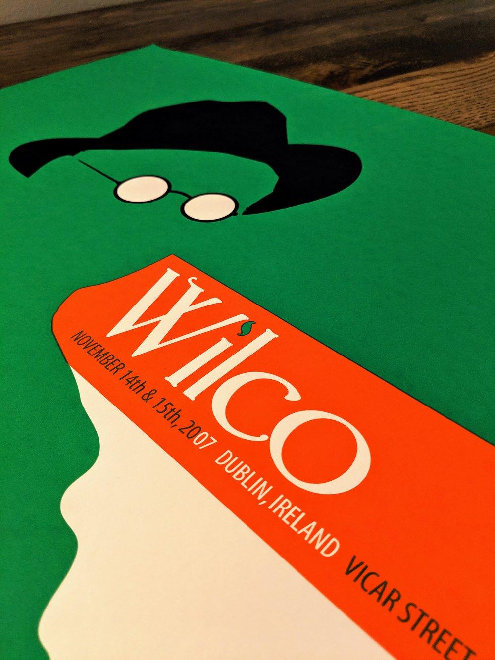 Wilco, Dublin, Ireland. **RARE**