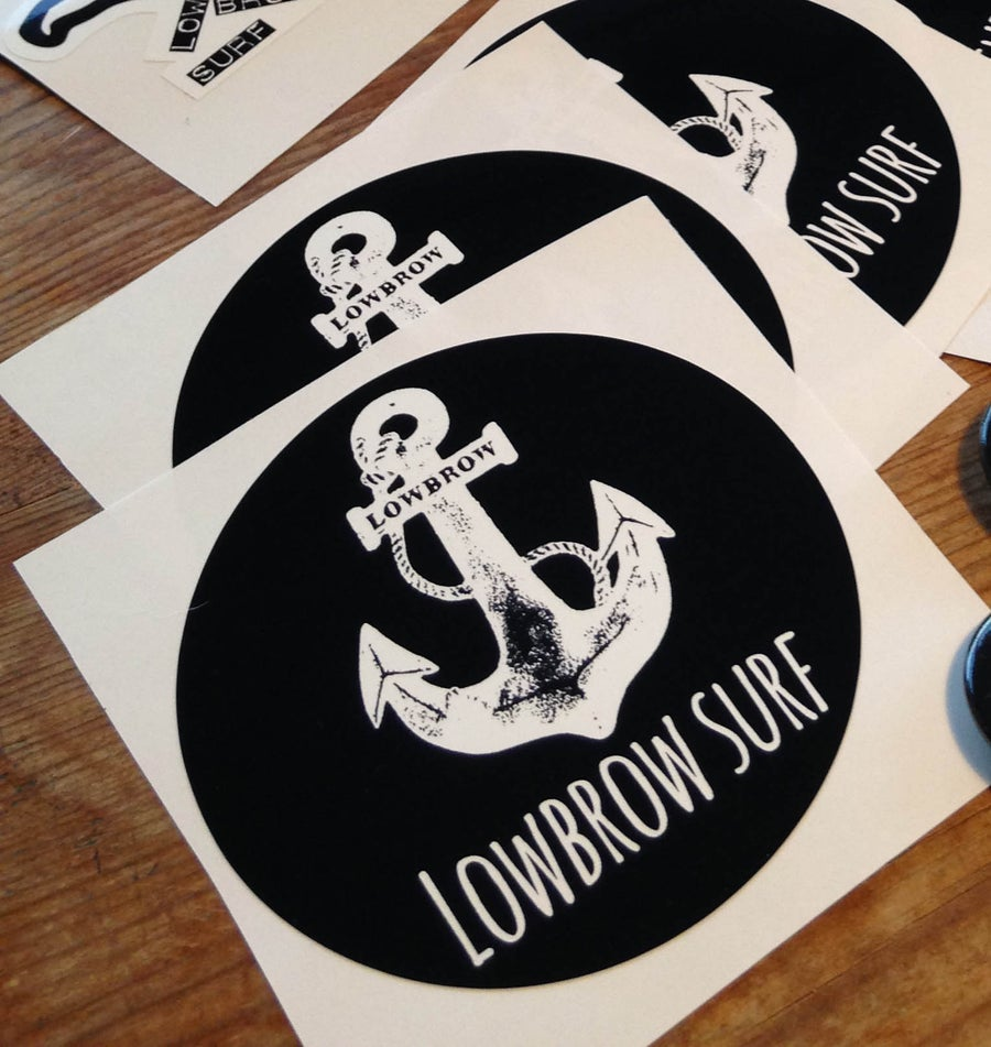 Image of Lowbrow Anchor Sticker