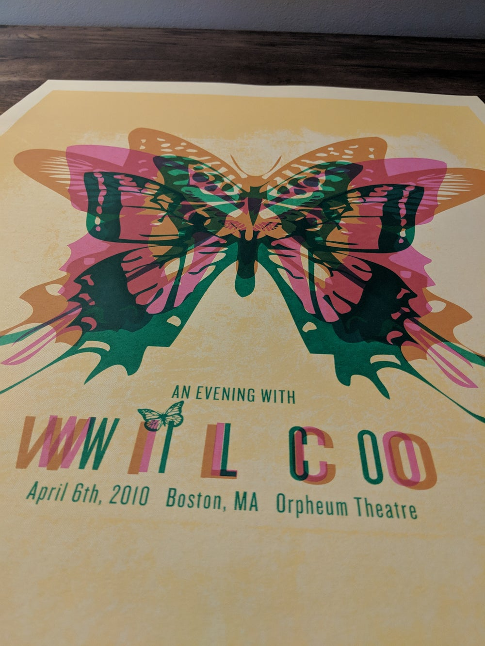 Wilco (An Evening With), Boston Butterfly