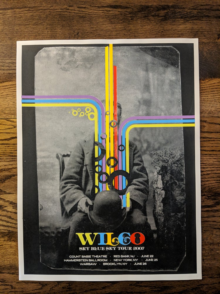 Image of Wilco, Sky Blue Sky, 2007 **NYC/NJ Special Edition**