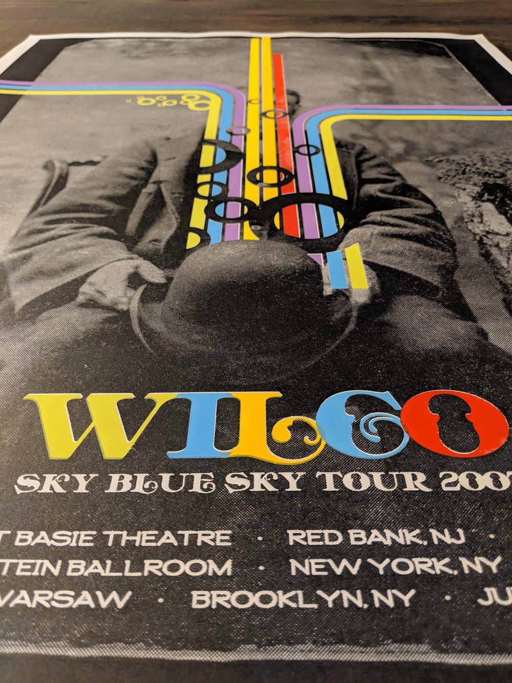Wilco, Sky Blue Sky, 2007 **NYC/NJ Special Edition**