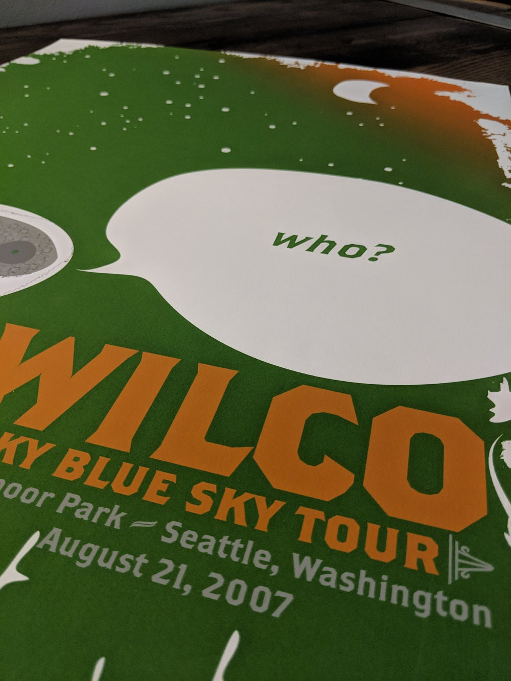 Wilco (Who?) Sky Blue Sky Tour **SPECIAL EDITION**