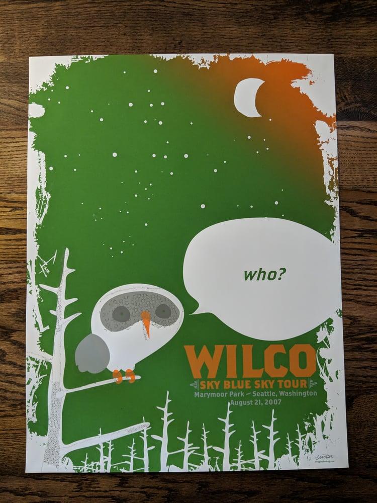 Image of Wilco (Who?) Sky Blue Sky Tour **SPECIAL EDITION**