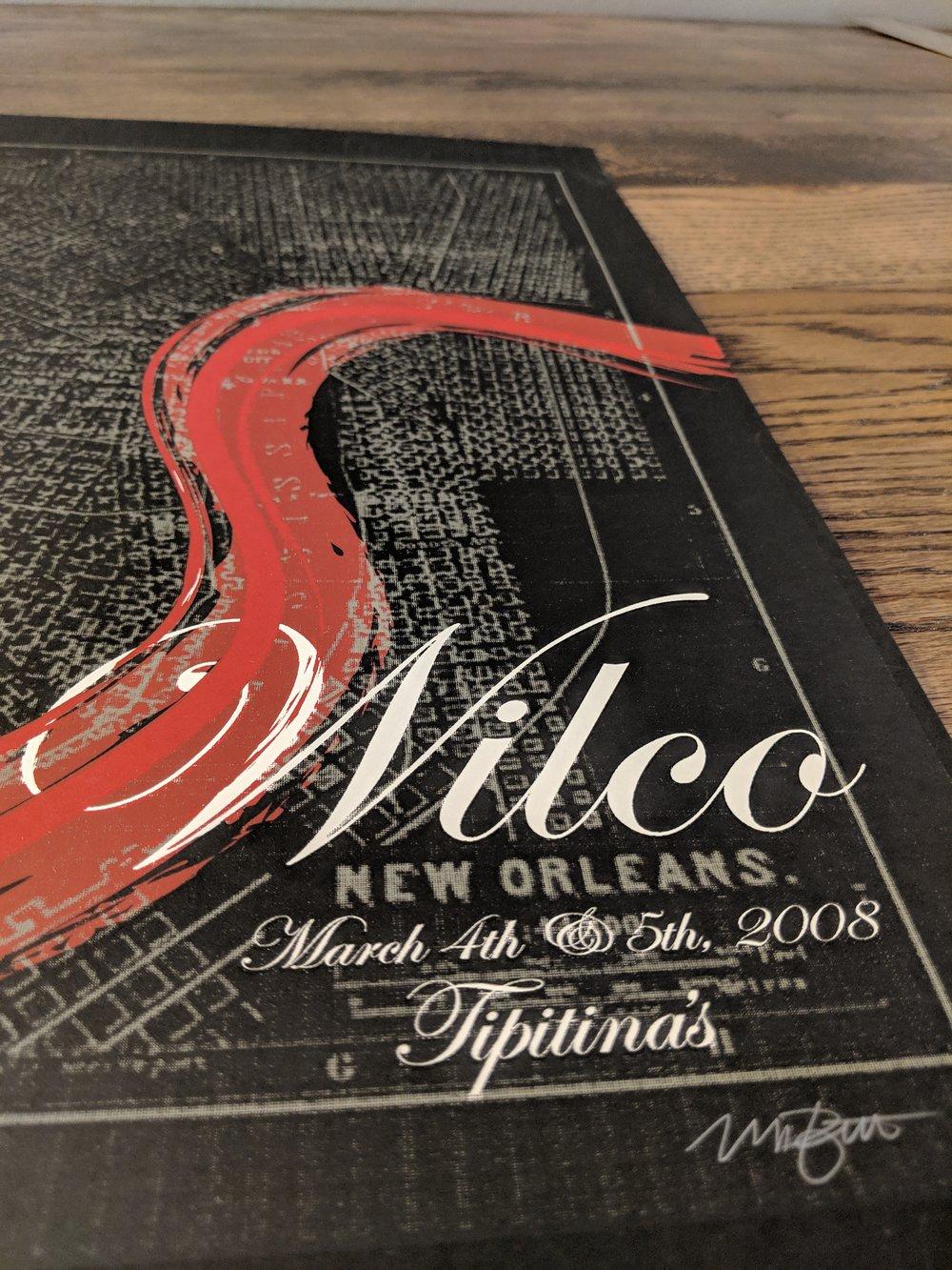 Wilco, New Orleans, Tipitinas **RARE**