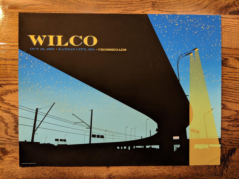 Image of Wilco, Kansas City, Crossroads