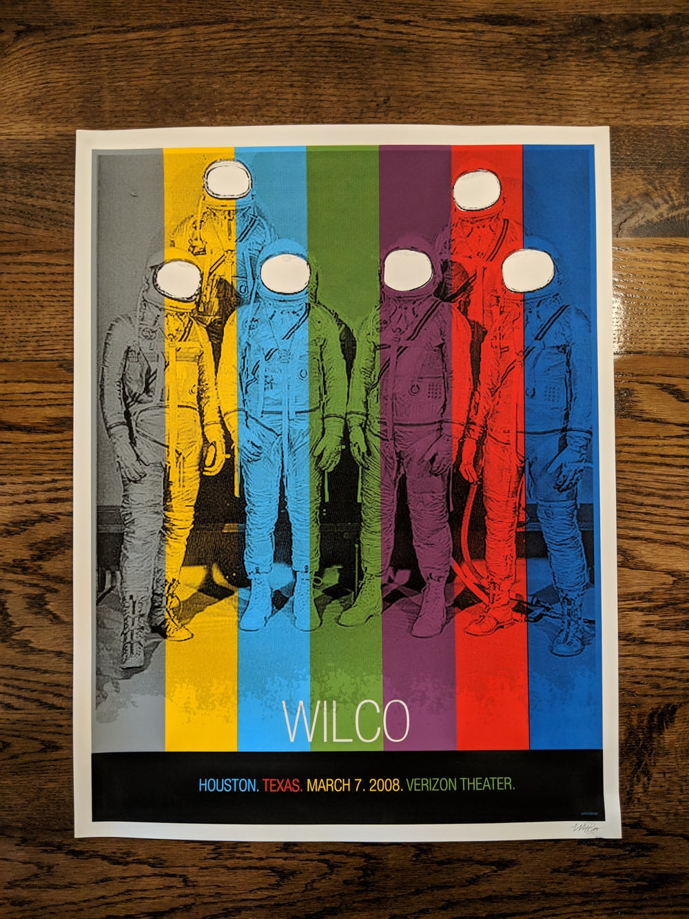 Wilco (Astronauts), Houston, Texas