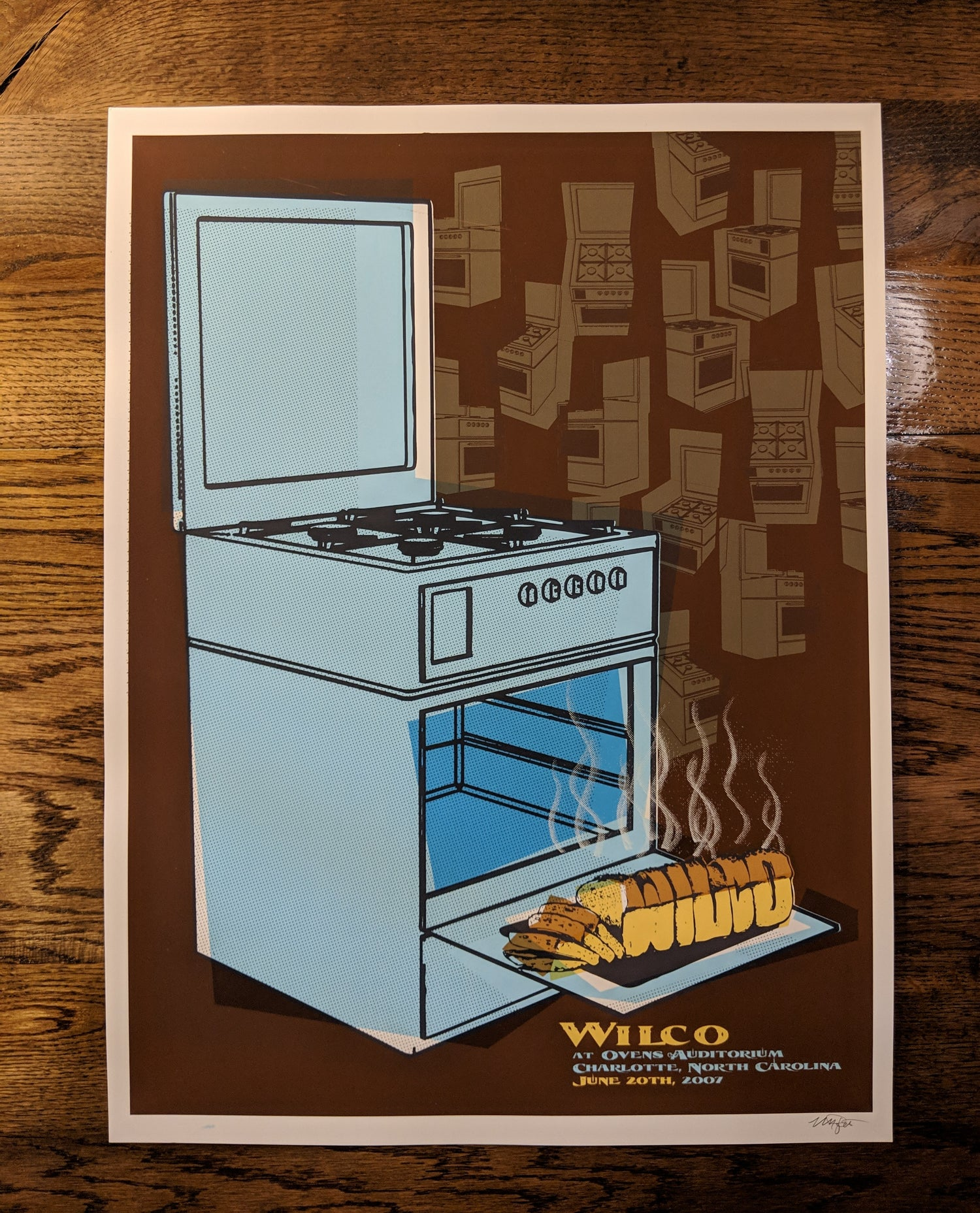 Image of Wilco (Ovens) Charlotte, NC **RARE**