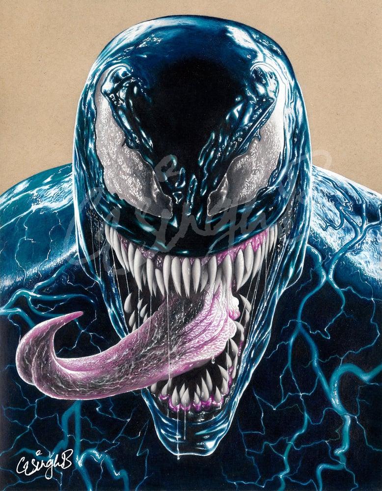 "Image of ""Villains"" (Thanos & Venom Prints)"