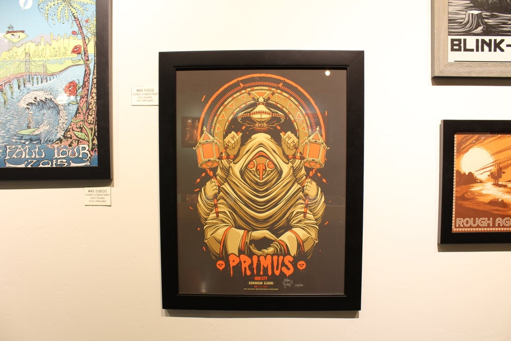 Image of Limited Edition - Mike Fudge Primus Poster Art