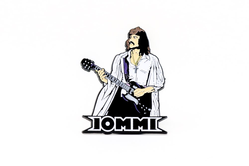 Image of Tony Iommi 70's Enamel Pin