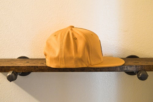 "Image of The ""Hunter"" 5-panel Snapback (Golden Biscuit)"