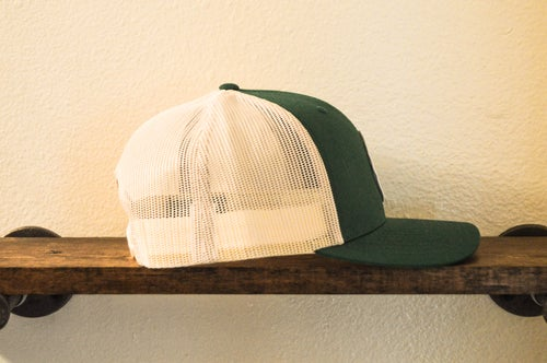"Image of The ""Adam"" Trucker (Green and Birch)"
