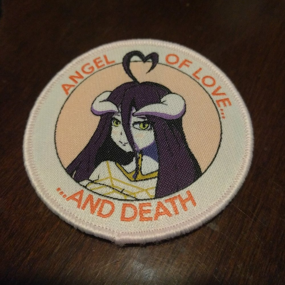 Image of Overlord Albedo Velcro Patch