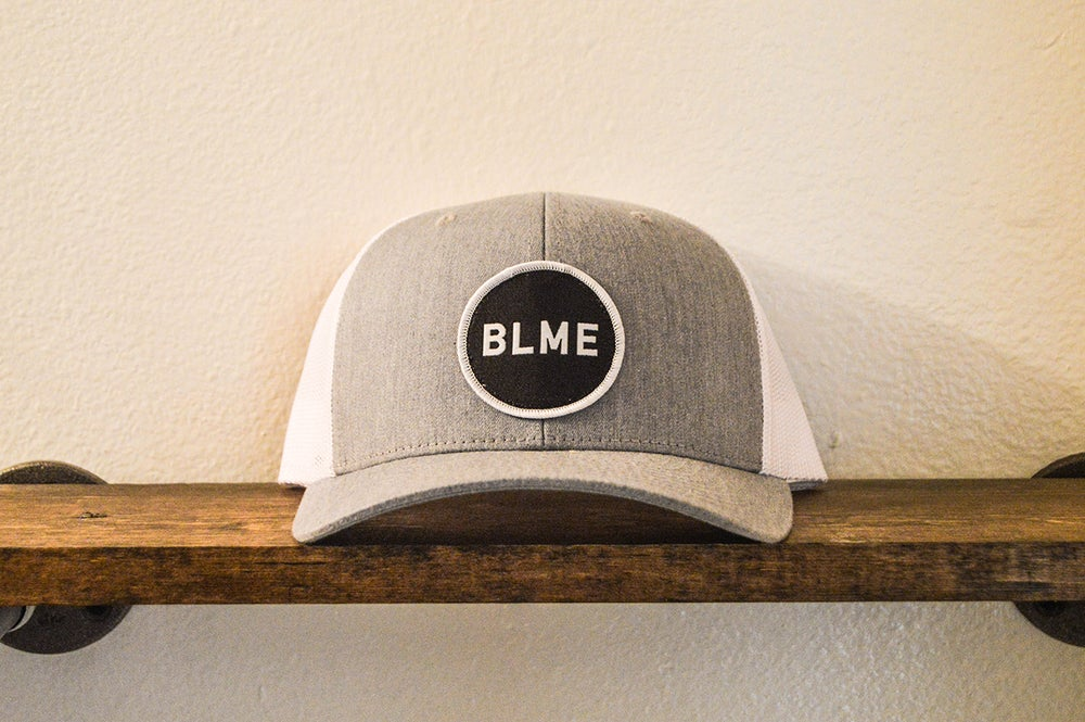 "The ""Adam"" Trucker (Heather Grey/White)"
