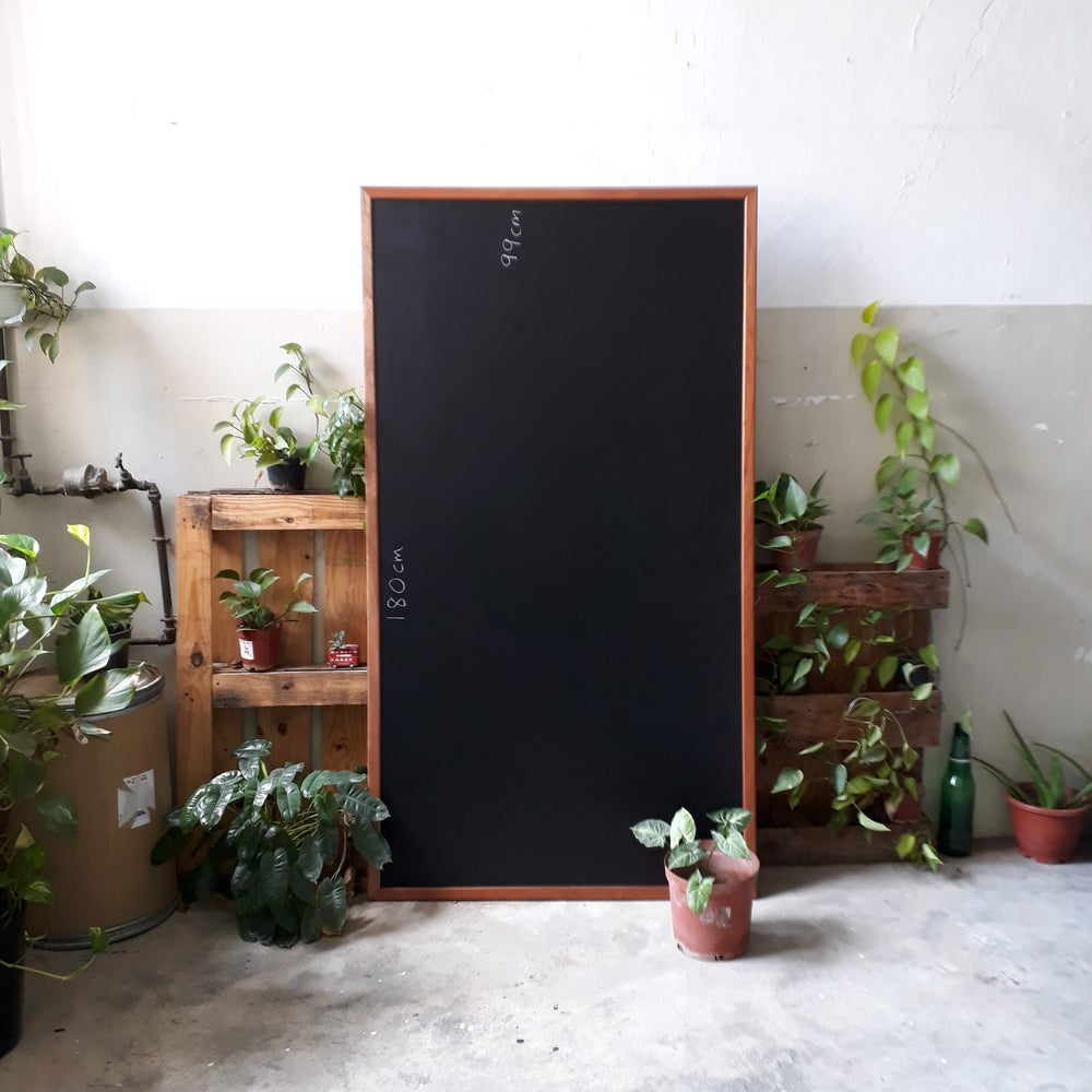 Image of Wall Chalkboard with Frame