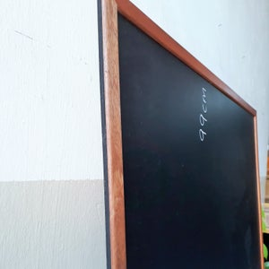 Wall Chalkboard with Frame