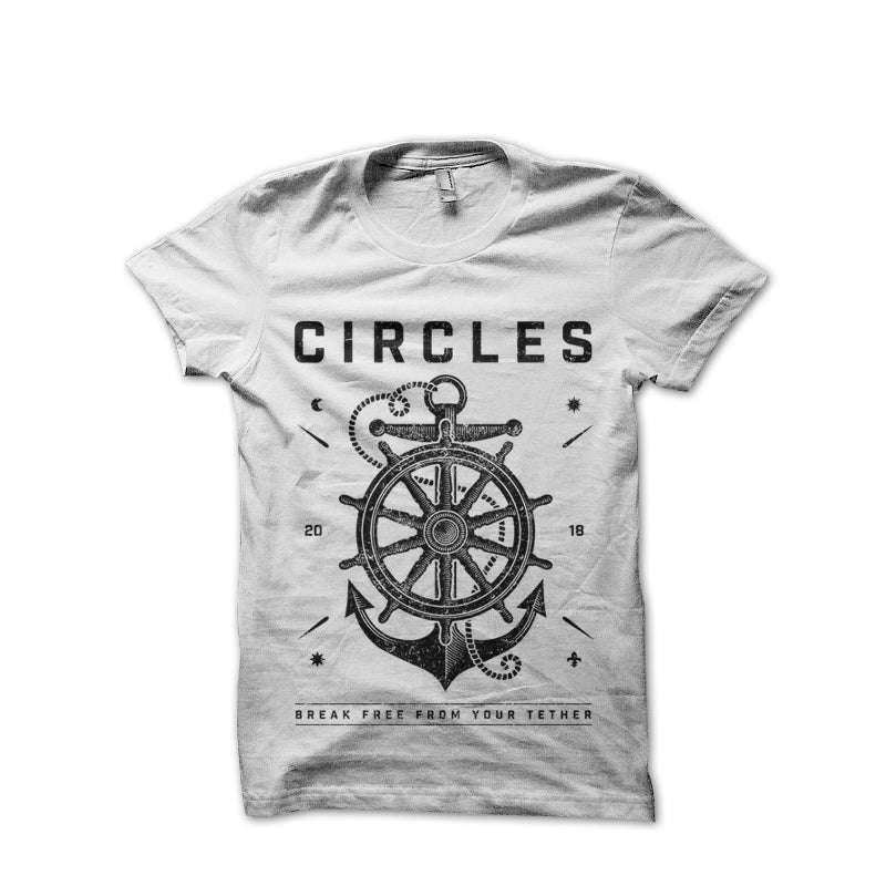 Image of Tether Anchor T-Shirt (White)